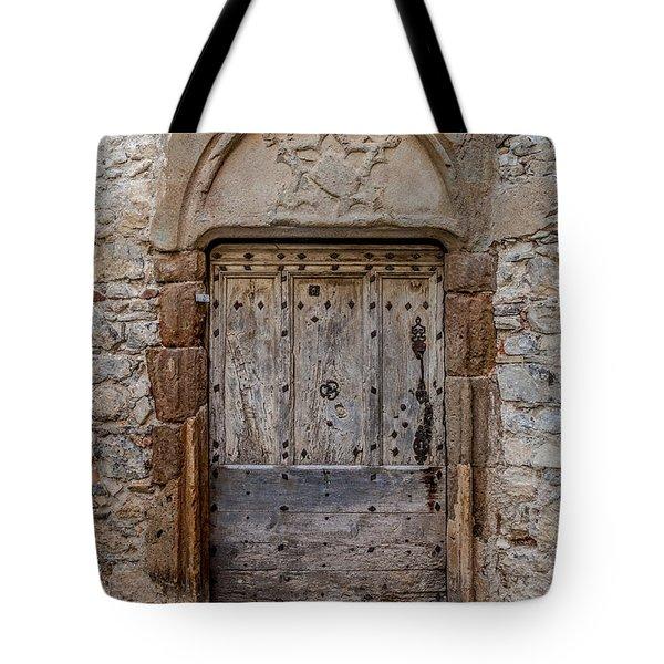 Lagrasse Door Number 3 Tote Bag