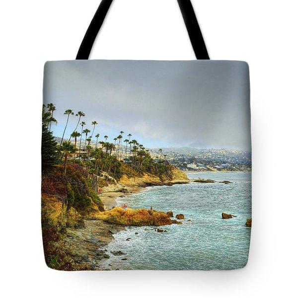 Laguna Beach Coastline Tote Bag