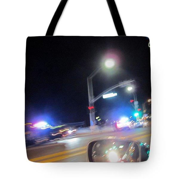 Laguna Night Tote Bag