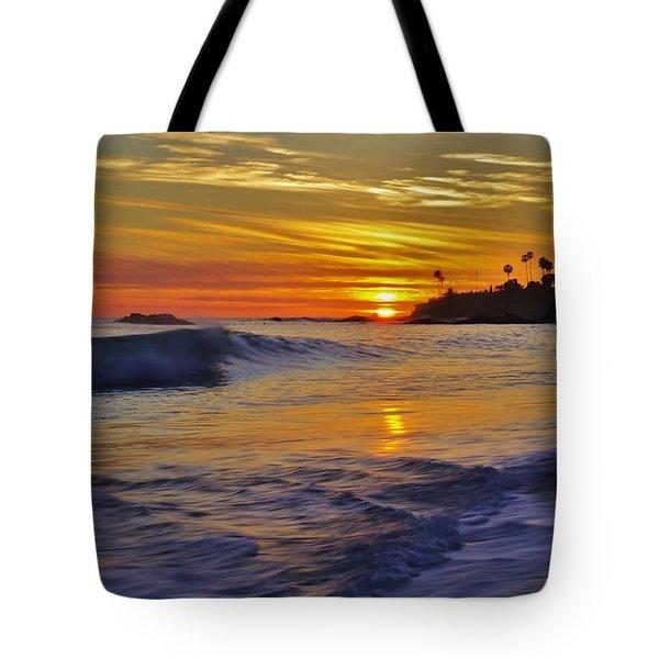 Laguna's Last Light Tote Bag by Matt Helm