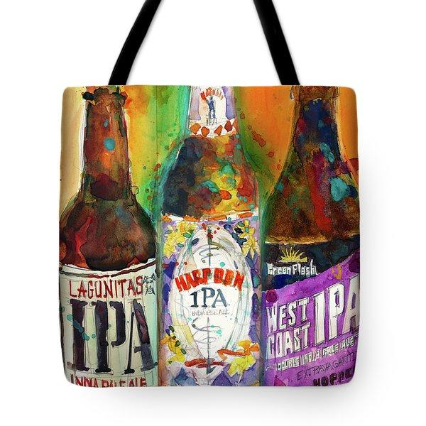 Lagunitas Ipa, Harpoon Ipa, West Coast Ipa Beer Tote Bag