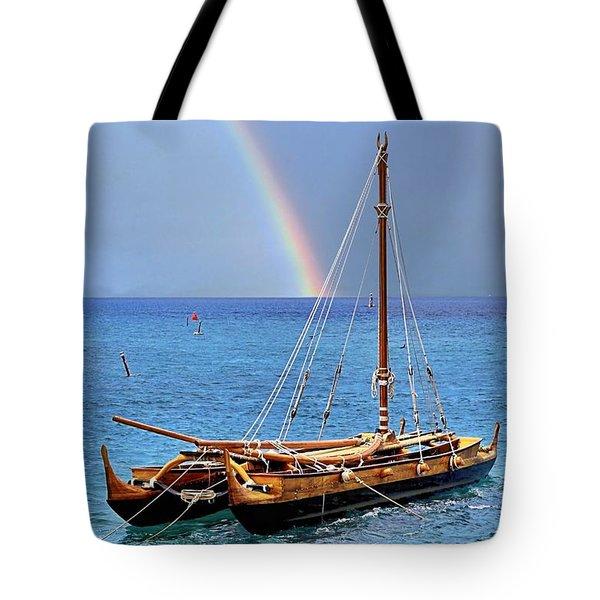 Lahaina Harbor Tote Bag