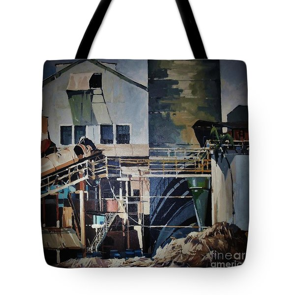 Lahaina Sugar Mill Tote Bag