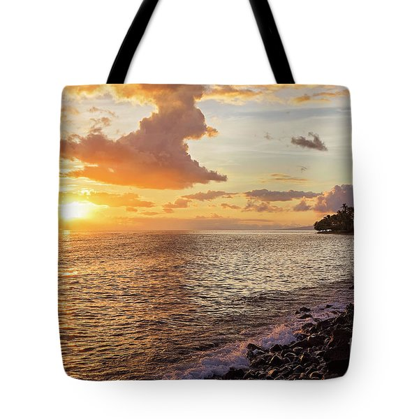 Lahaina Sunset Tote Bag