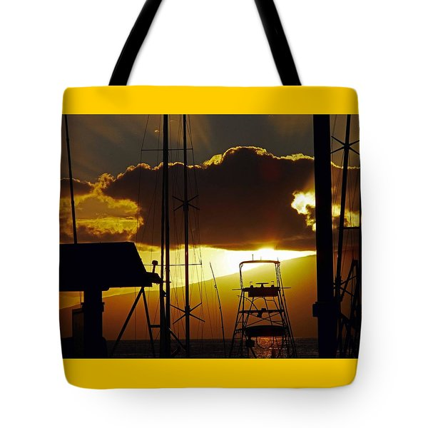 Lahaina Sunsets 5 Tote Bag