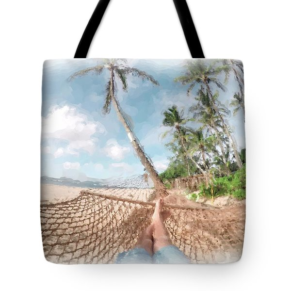 Laid Back Tote Bag