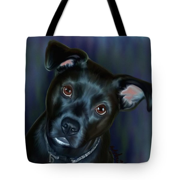 Laila In Blue Tote Bag