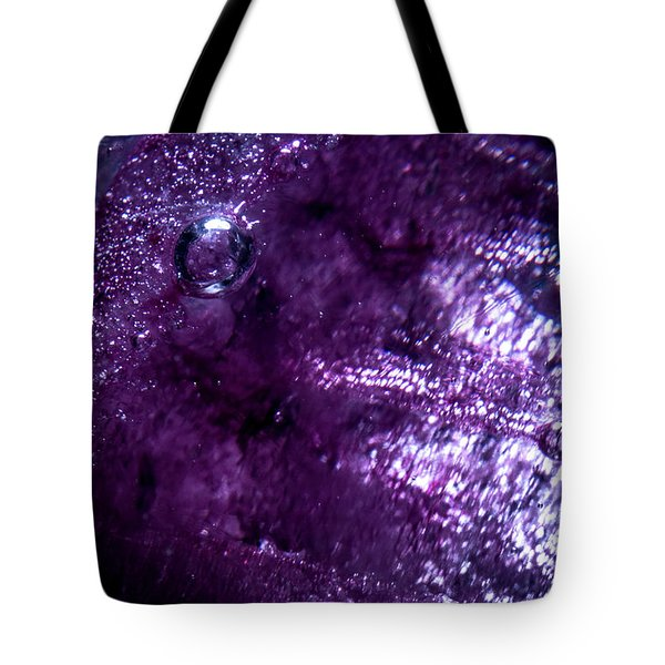 Tote Bag featuring the photograph Lair by Eric Christopher Jackson