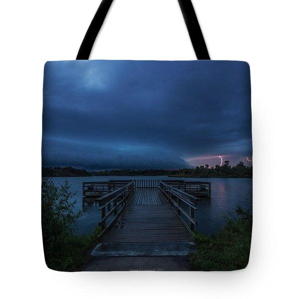 Lake Alvin Shelf  Tote Bag