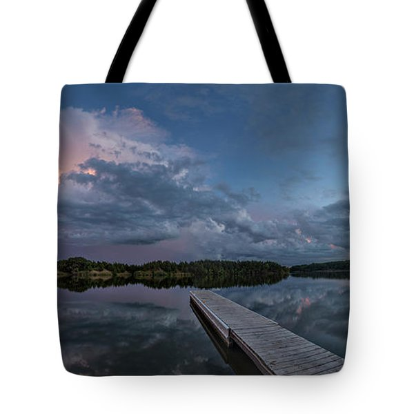 Lake Alvin Supercell Tote Bag