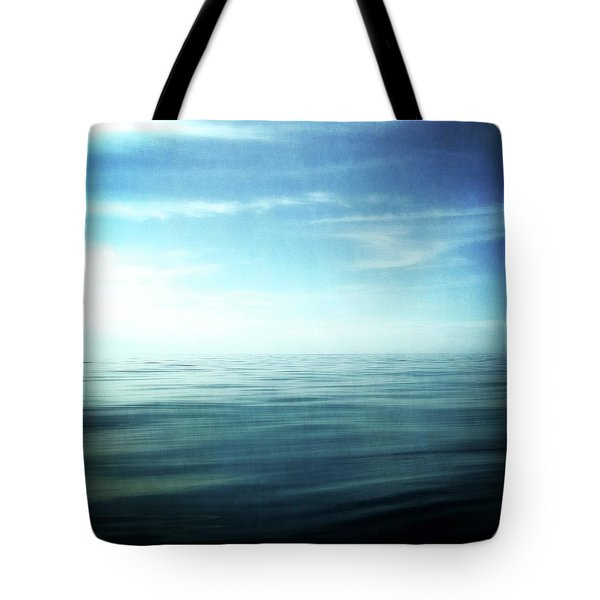 Lake And Sky Tote Bag