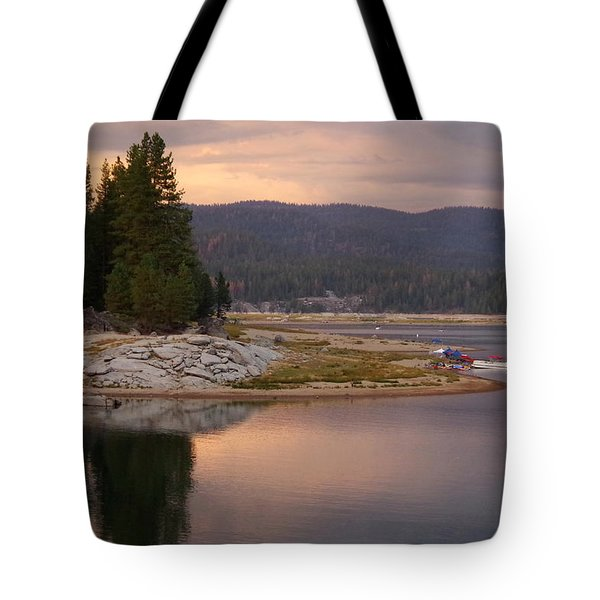 Lake At Twilight Tote Bag