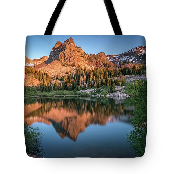 Lake Blanche At Sunset Tote Bag