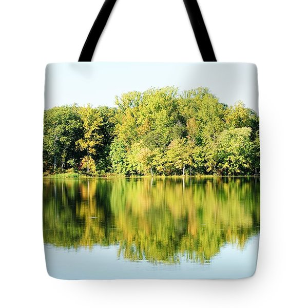 Lake Briddle Tote Bag by Heidi Poulin