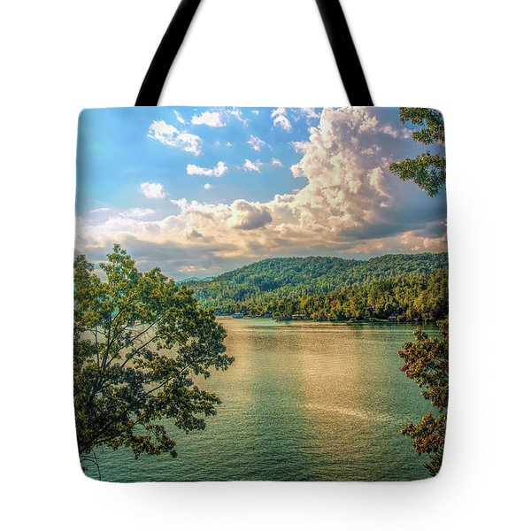 Lake Burton Tote Bag