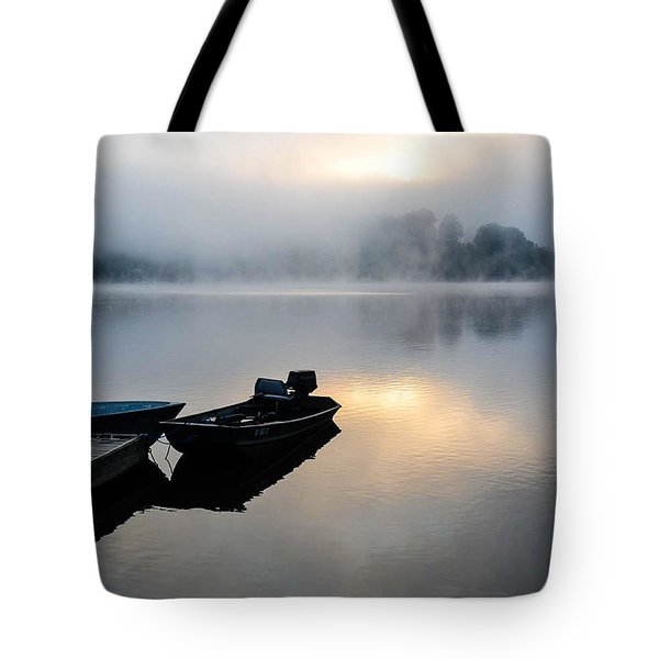Lake Calm Tote Bag