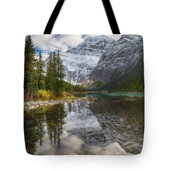 Tote Bag featuring the photograph Lake Cavell by John Gilbert