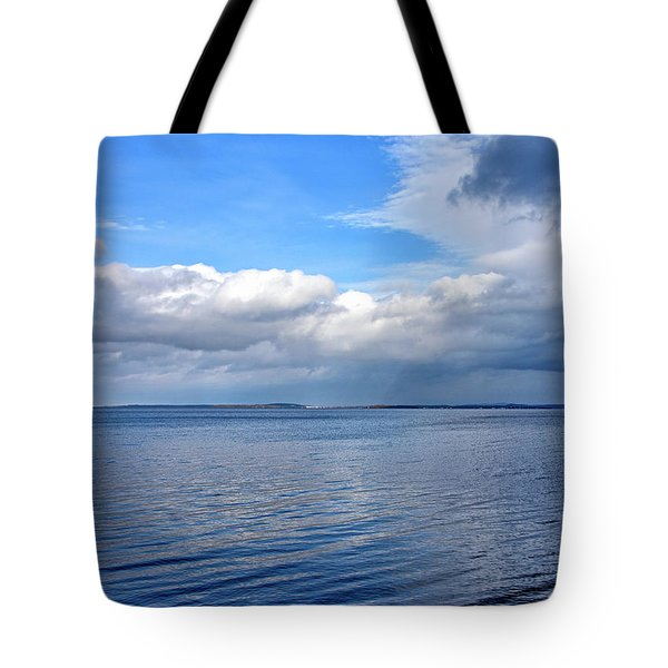 Tote Bag featuring the photograph Lake Champlain From New York by Brendan Reals