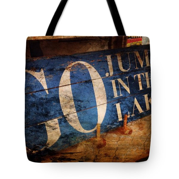 Lake Charm Tote Bag