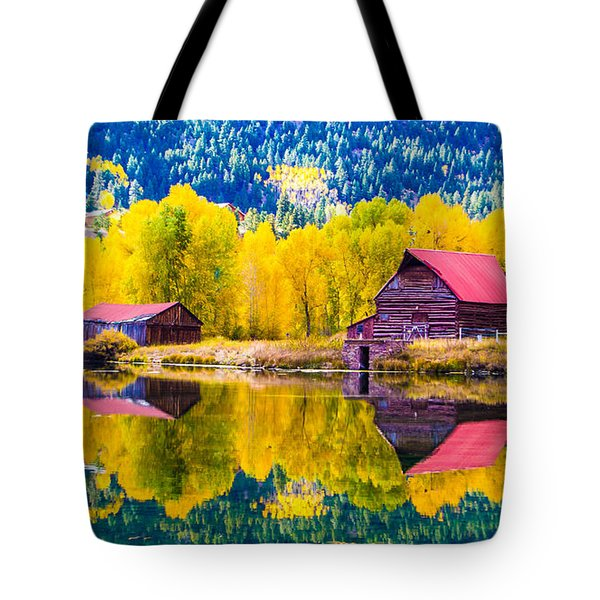 Lake City Reflections Tote Bag