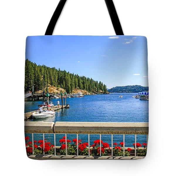 Lake Coeur D'alene Tote Bag