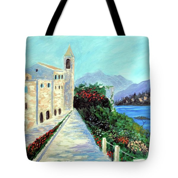 Lake Como Colors  Tote Bag