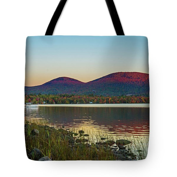 Lake Cruise Tote Bag