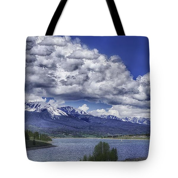Tote Bag featuring the photograph Lake Dillon by Bitter Buffalo Photography