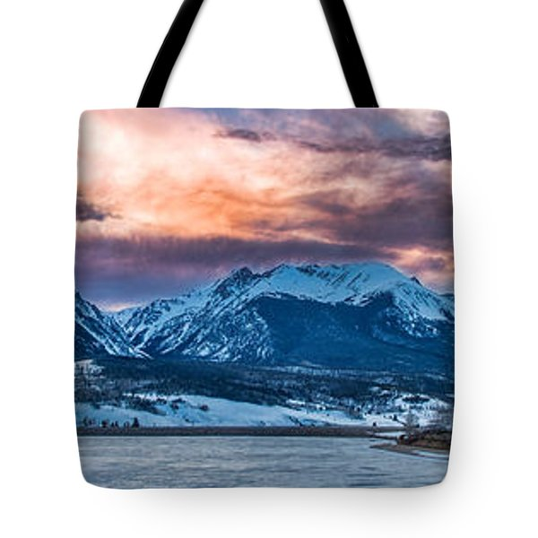Tote Bag featuring the photograph Lake Dillon by Sebastian Musial