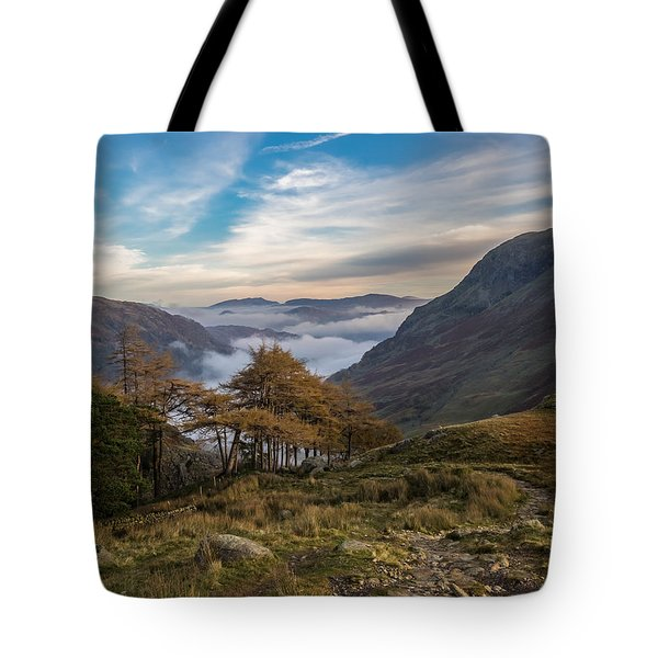 Lake District Views Tote Bag