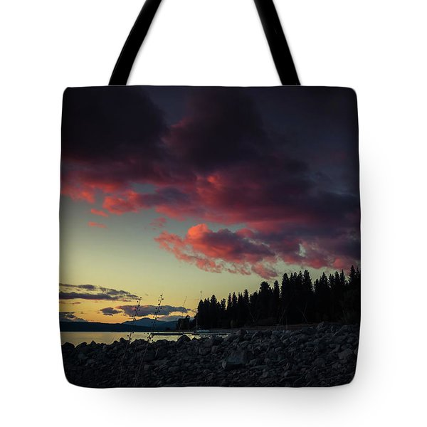 Tote Bag featuring the photograph Lake Dreams by Jan Davies