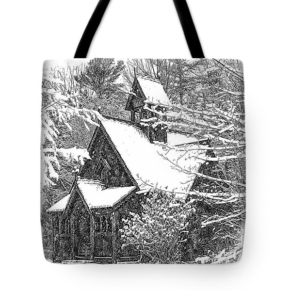 Lake Effect Snow Tote Bag