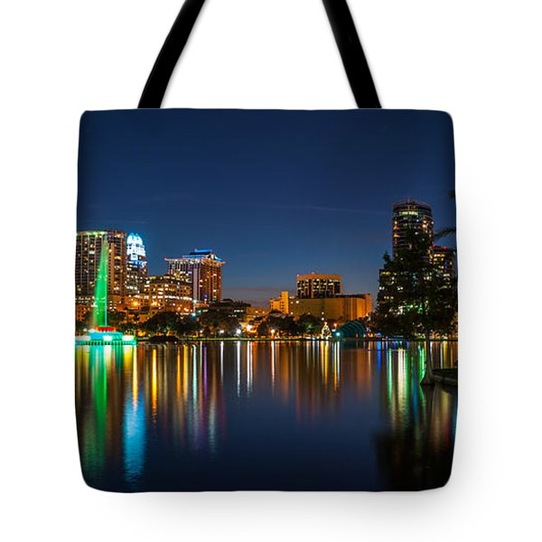 Lake Eola Orlando Tote Bag