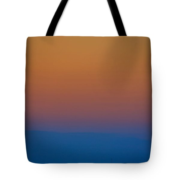 Tote Bag featuring the photograph Lake Erie Sunset by Steven Richman