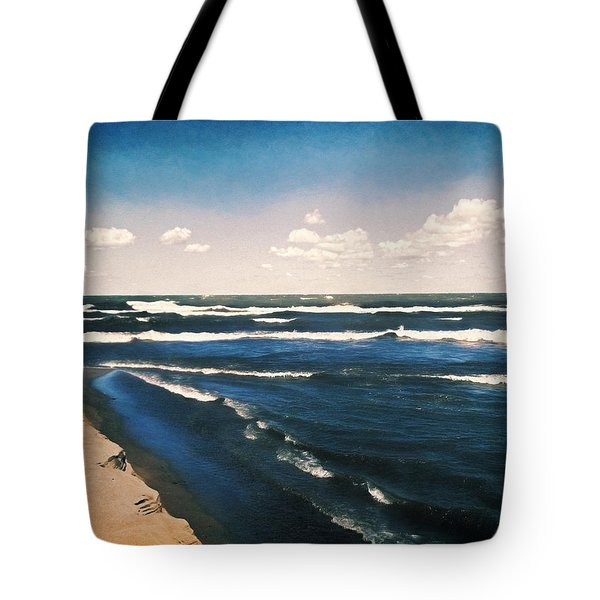 Lake Erie Whitecaps  Tote Bag by Shawna Rowe