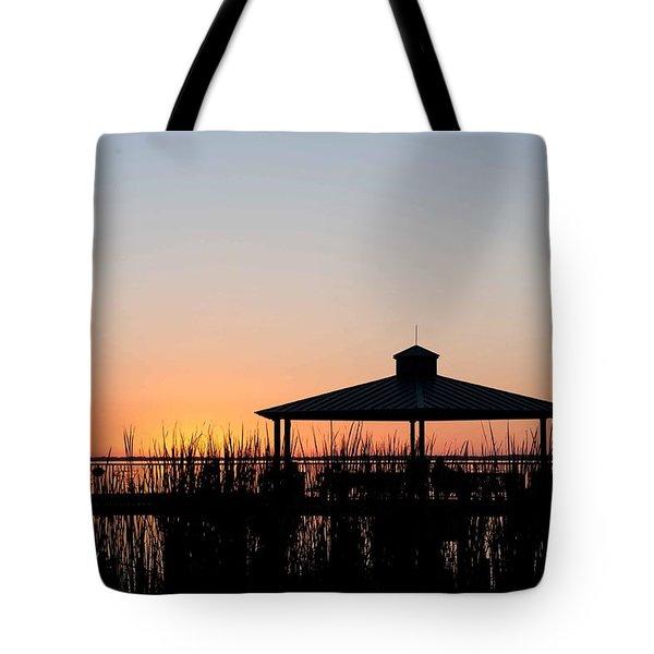 Lake Eustis Sunset Tote Bag