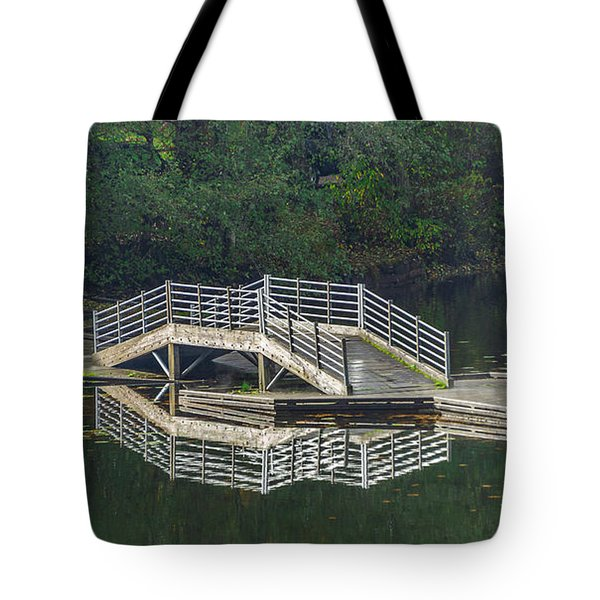 Lake Fenwick Tote Bag by Jerry Cahill