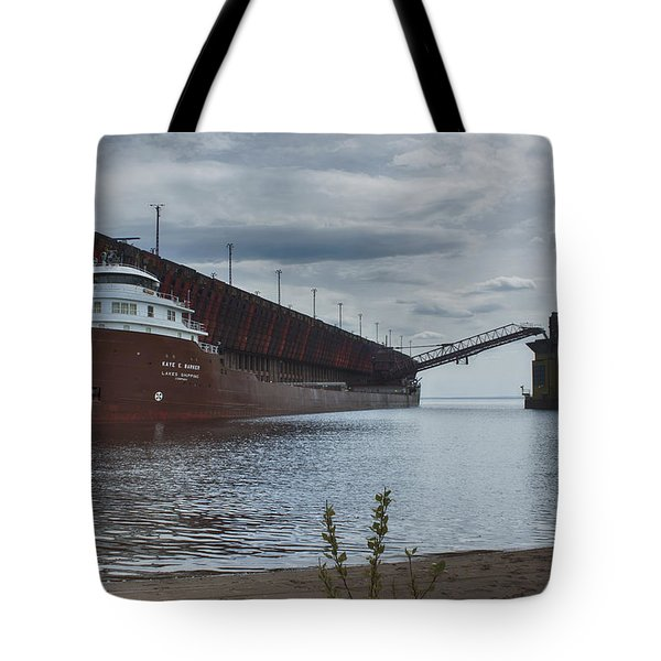 Lake Freighter Tote Bag