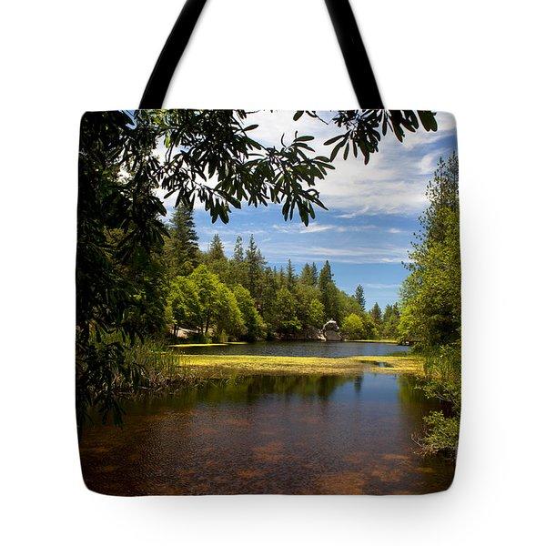 Lake Fulmor View Tote Bag