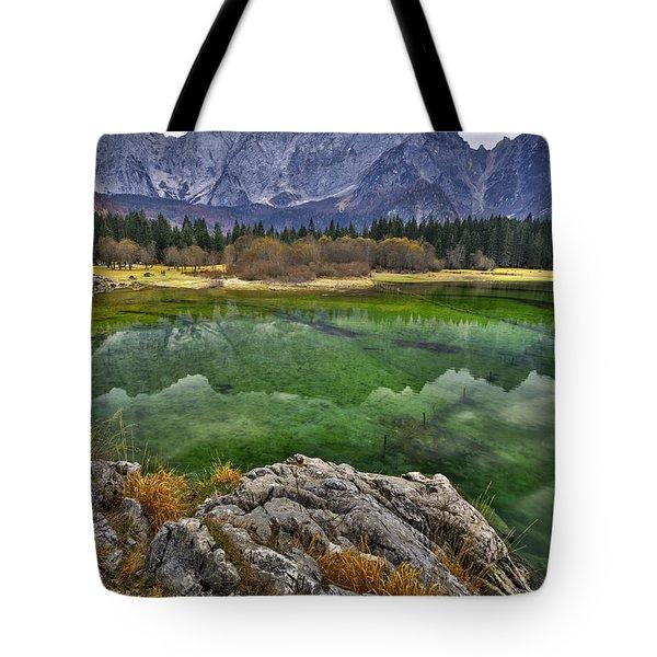 Lake Fusine Tote Bag