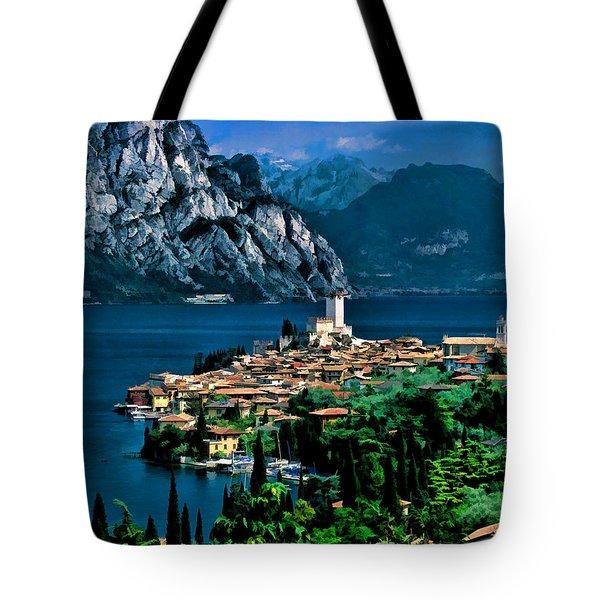 Lake Garda Tote Bag