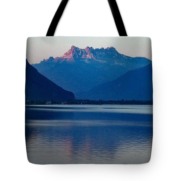 Lake Geneva, Switzerland Tote Bag