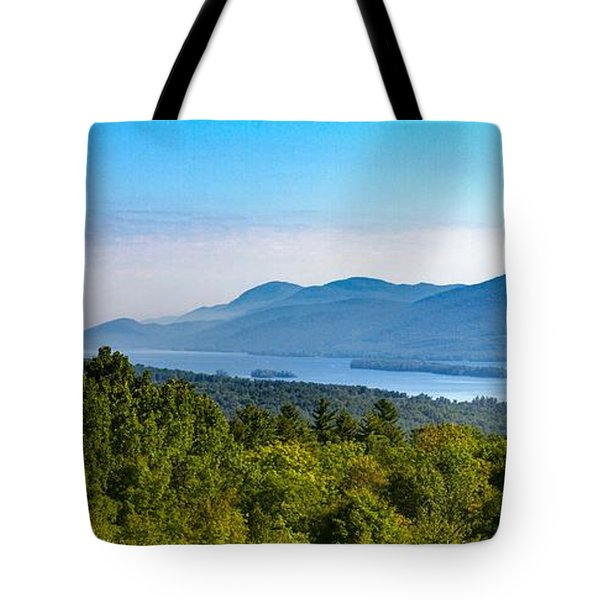 Lake George, Ny And The Adirondack Mountains Tote Bag