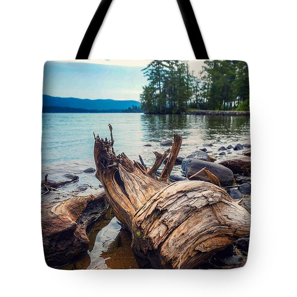 Lake George Palette Tote Bag