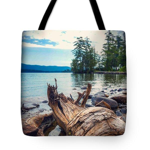 Lake George Palette Tote Bag