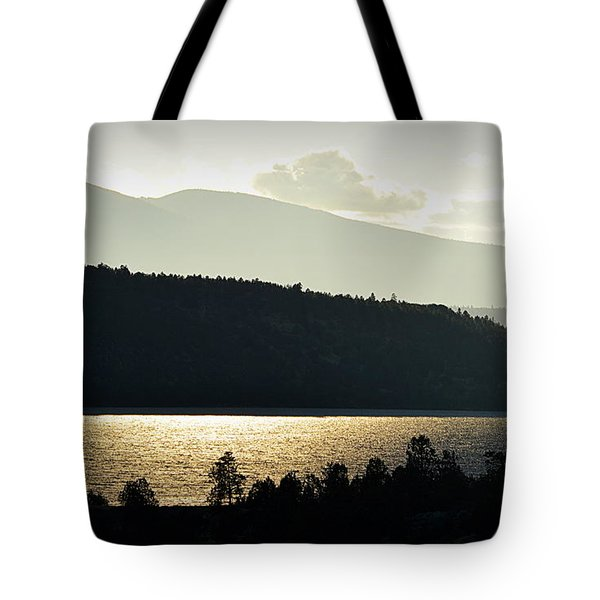 Lake Glimmer Tote Bag
