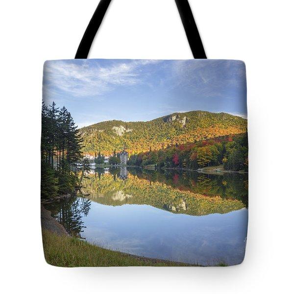 Lake Gloriette - Dixville New Hampshire Tote Bag