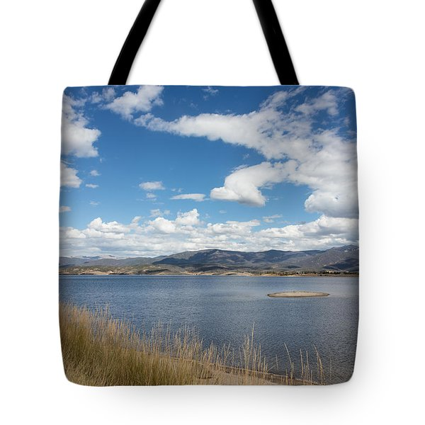 Lake Granby -- The Third-largest Body Of Water In Colorado Tote Bag by Carol M Highsmith