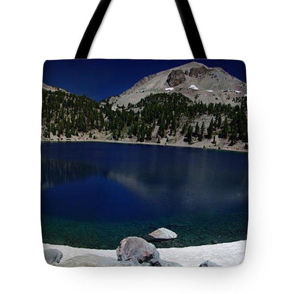 Lake Helen Lassen  Tote Bag by Peter Piatt