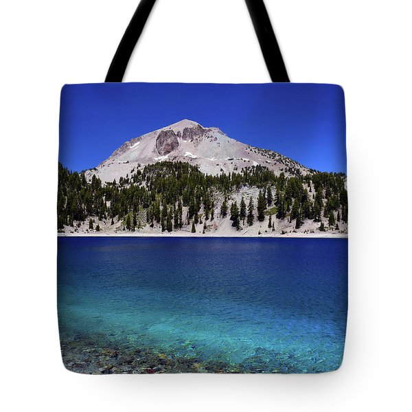 Tote Bag featuring the photograph Lake Helen Mount Lassen 2 by Frank Wilson